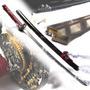 Katana Red Samurai Boker Arbolito Zs 579 Acero Carbono Filo