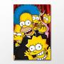 Poster Simpson Homer Bart Desenho Serie Hq Game Cine Decor