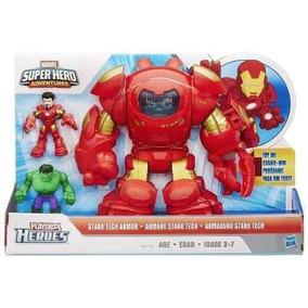 Kapow Armadura Stark Tech Marvel - Vingadores 2 - Hasbro #