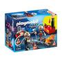 Educando Playmobil Bomberos Con Juego Bomba De Agua 5365