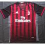 Camiseta Titular Milan 2016/17