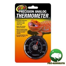 Zoomed Thermometer (termômetro Analógico P/ Terrários)