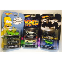 --- Super Lote Hotwheels Retro Serie 1:64 Batmobile Delorean