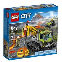 Lego City 60122 Volcano Crawler 324 Piezas