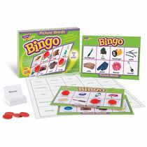 Bingo Picture Words Palabras En Ingles Trend Loteria