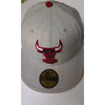 Nba Chicago Bulls New Era 59 Fifty Size 7 1/2 $435 Pesos