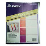 Separador Carta Avery Cl 1-5 3 Per. 11157 Districomp