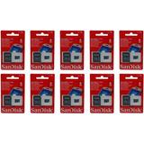 Cartão De Memória Sandisk/kingst 8 Gb - Pct. Com 10 Unidades