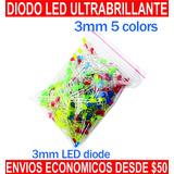 Diodo Led Ultra Brillante Luz Color Blanco