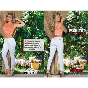 Jeans Pantalon De Dama Colombianos Levanta Cola Lyl X Cerox