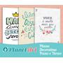 Placas Decorativas Pvc - Frases - Motivacionais - Divertidas