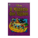 Livro Gibi O Mistério Dos Signos - Disney ( Capa Dura )