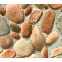 Papel De Parede Neonature 2 3d Vinílico Relevo Imita Pedra