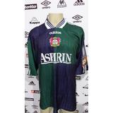 Camisa Bayer Leverkusen adidas De Jogo #15 Paulo Rink Tm Gg