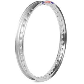 Par Aro Moto Alumínio Polido Titan150 Medidas 18x185+18x185
