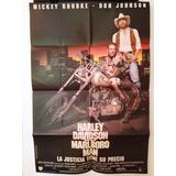 Afiche De Cine - Harley Davidson - Marlboro Man