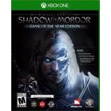 Middle Earth Shadow Of Mordor Goty Xbox One Nuevo Original