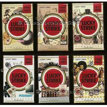6 Lucky Strike Box 20 Lucky Times 2009 Llenos