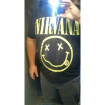 Remeras Nirvana - Envíos A Todo El País