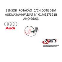 Sensor Rotação C/chicote 01m Audi/a3/a4/passat 96/03.