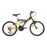 Bicicleta Mountain Bike Rodado 20 Suspension Halley 16335