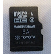 Memoria Gps Toyota (todos Los Modelos)