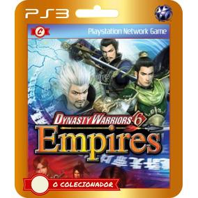 Promoção!! Dynasty Warriors 6 Empires (códigos Ps3)