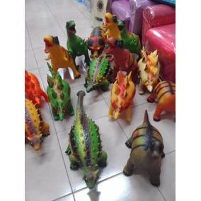 Dinosaurios De Goma Varios Modelos Grandes X 5 Surt Urquiza
