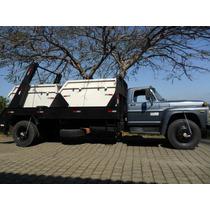 Caminhão Poliguindaste,2 Caçambas (domarco), Capacidade: 12t