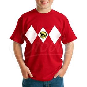 Playera Para Niño Power Ranger Red Varias Tallas