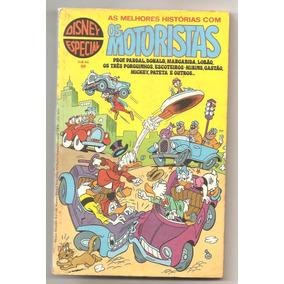 R7.1 - Disney Especial Nr 50 - Os Motoristas - Maio De 1980
