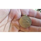 Medalla Salto Caballo En Bronce Sin Grabar