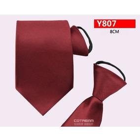 Gravata Styly De Ziper 8cm Lg