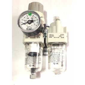 Unidad De Mantenimiento Aire Regulador Filtro Frl 1/4 Smc