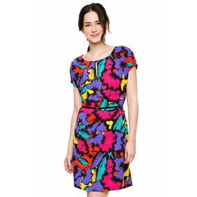 Vestido Multicolor Canchero Verano Oferta! Mariana Marquez