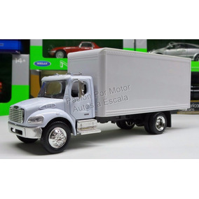 1:43 Freightliner M2 Caja Seca Blanco New Ray Rabon