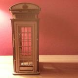 Cabina Telefonica Inglesa - Roja - Somos Fabricantes