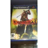 Devil May Cry 3 Ps2 Original Pal España
