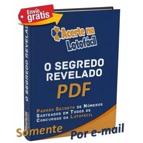 E-book Acerte Na Lotofácil O Segredo Revelado Livro Digital