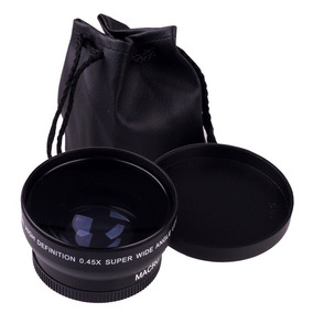 52mm Fisheye Olho De Peixe Nikon D5100 D5200 D5300 18-55mm