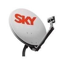Antena Sky Ku 60cm + Cabo + Lnb + Frete Grátis!