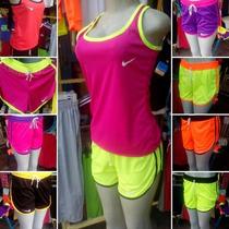 Conjunto Deportivo Nike Under Adidas Damas Detal Mayor