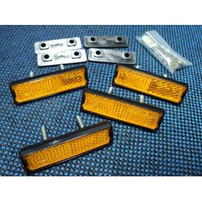 Kit Jogo Refletor Cateye P/ Pedal Bmx Caloi Cross Light Kkt