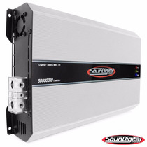 Soundigital Sd 8000.1d 8k Evolution 1 Canal 2 Ohm