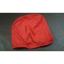Gorro De Baño Color Rojo Y Gris.