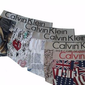 Kit 05 Cuecas Boxer Calviin Klen Box Ck .- Barato