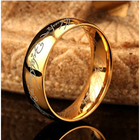 Anel Aliança- Senhor Dos Anéis - Frete Grátis Promoção