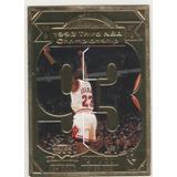 Ojo. Tarjeta De Oro De 22 Kts. Michael Jordan.