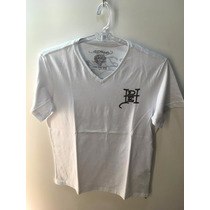 Camiseta Tshirt Ed Hardy Masculina Branca Christian Audigier