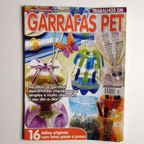Revista Coleção Artesanato Prático E Fácil Garrafas Pet Nº03